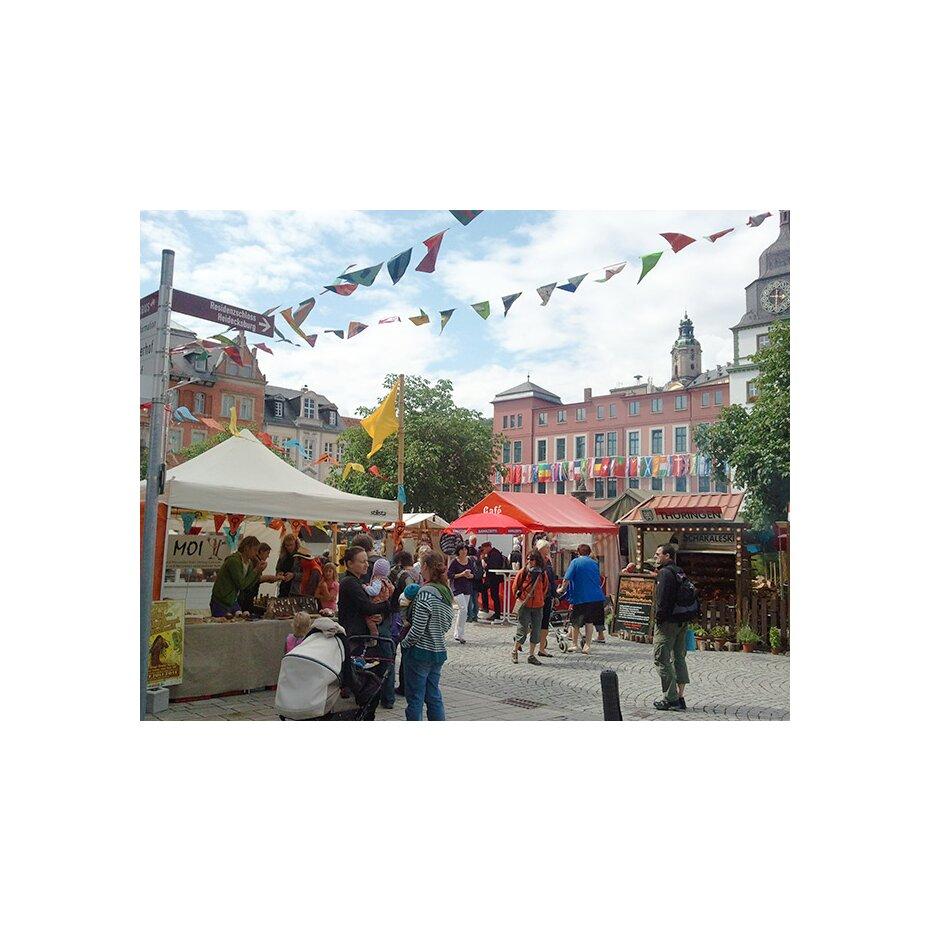 Maultrommeln auf dem Tanz- und Folkfest in Rudolstadt -