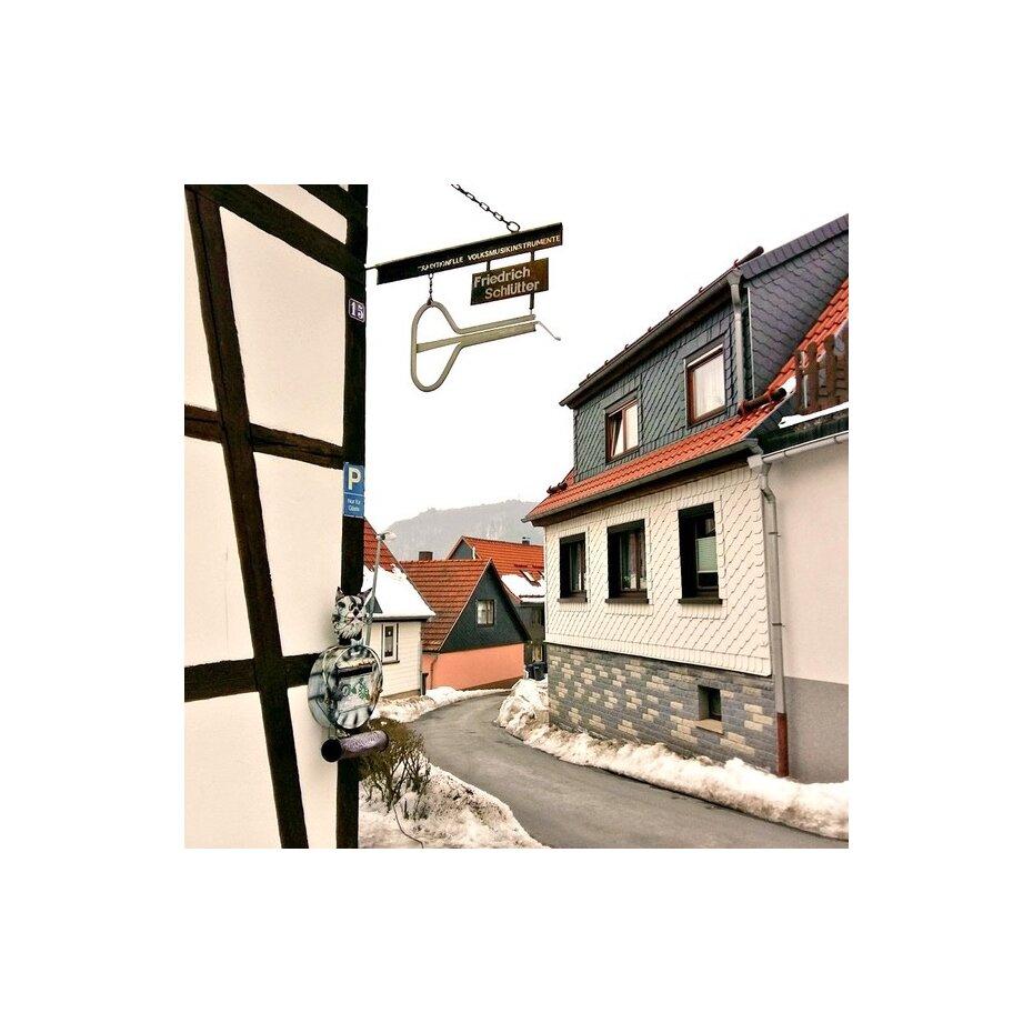 Die Maultrommel in Thüringen: zu Besuch in der Werkstatt von Andreas Schlütter -
