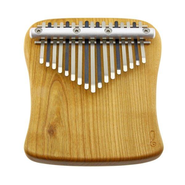 Kalimba 17-Tone - F-Minor diatonic - Cherry