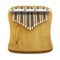Kalimba 17-Ton - F-Moll diatonisch - Kirsche