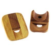 Wooden Nose Flute - Large