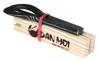 The DAN MOI Jew's Harp Wooden Transport and Protection Block