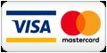 Credit cards VISA / MasterCard
